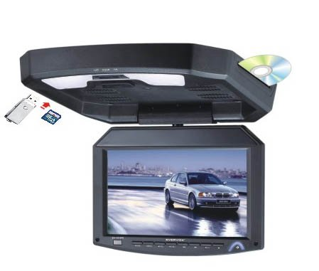 A 12.1inch Flip down TFT LCD Monitor Roof Mount DVD player(China (Mainland))