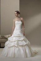 Sincerity Bridal 2010 style wedding gown Taffeta Strapless Ball Gown Wedding Dresses 3559