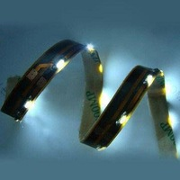 335 SMD Side View LED Strip with 90degree Viewing Angle and 12V DC input;60leds/m;waterproof;green color