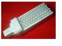 G24 3W LED bulb;60pcs 5mm dip led, White color