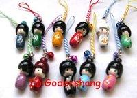 LOT 500 Biggest KOKESHI Doll Mobile Phone charms