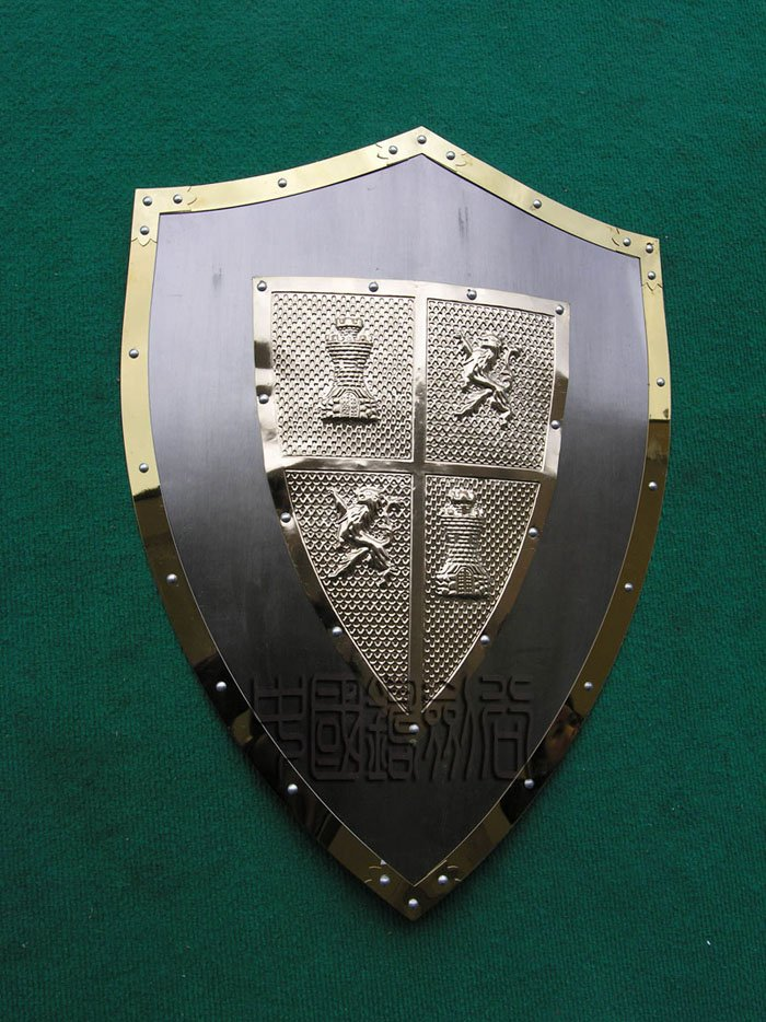 Medieval El Cid Shield Knight Armor Steel w/ Cross New(China (Mainland))