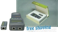FREE SHIPPING Network Cable Tester Meter Length SC8108