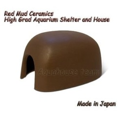 Red Mud Ceramics Shrimp Shelter Shrimp House Crab House(China (Mainland))