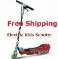 Free shipping Electric Kids Boy's Girl's Scooter RED 10Mph/e scooter/e-scooter/powered scooter/mini scooter/