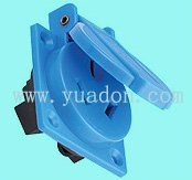 waterproof socket, two hole waterproof socket,weather protected/water proof socket with cover,cover waterproof socket(China (Mainland))