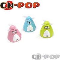 Free shipping Mini Fan electric cool summer fans Portable animal design summer toys 20pcs/lot