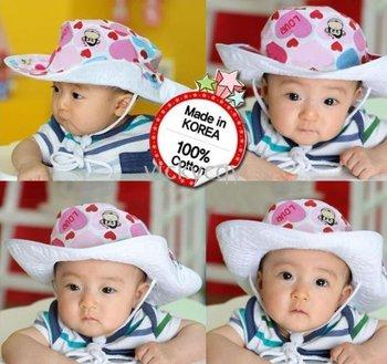 - Baby hats kidsSun Hats hat Sunbonnet Glacier cap Headgear Topi Topee Cap-CDM1215