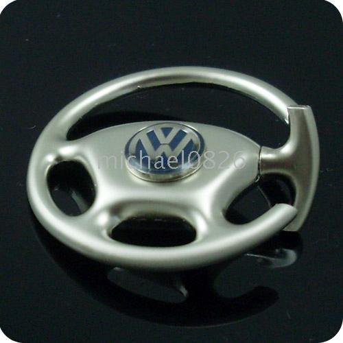 with gift box Volkswagen car steering-wheel Key ring(China (Mainland))