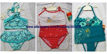 Infant Swim Tank Suit, kids swimwear, girls tankini swimwear, girls string bikini, girls swimsuit#GB0103-05
