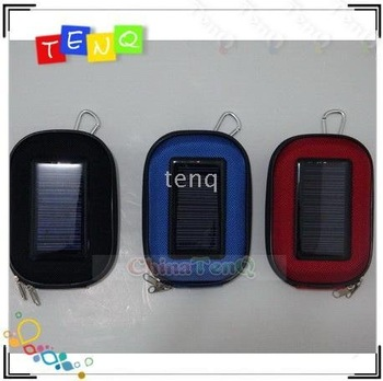 50pcs_mini Solar panel Charger Camera Bag for Phones