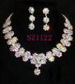 rhinestone jewelry sets  crystal jewelry sets SZ1122 FREE SHIPPING