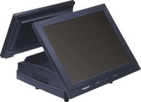 Touch POS terminal, double screen
