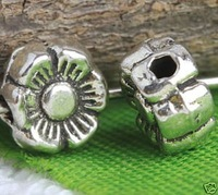 Tibetan Silver Tiny Flower Spacer a2692