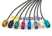 free shipping Radio antenna Extension cable Fakra Jack pigtail 15cm SET