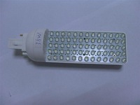 G24 Base LED Bulb;65pcs 5mm led;3.5W;size:43mm*153mm;325lm,P/N:HA015D