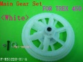 F00206  1set Assembly Main Gear Set (white) as HS1220-01 for  TREX T-REX 450 SPORT PRO SE V2 GF XL