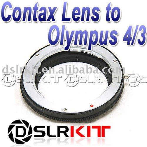 Адаптер для объектива DSLRKIT Contax Yashica C/Y CY Olympus 4/3 CY-OM фотоаппарат olympus om d e m5