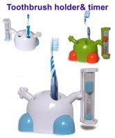 100pcs/lot toothbrush sandglass timer, toothbrush timer, toothbrush timer and holder