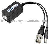 UTP Balun twisted pair transimitter 200M-400M WITH POWER