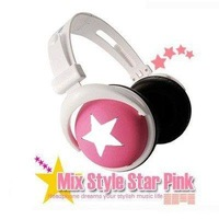 Mix-style computer Headphone headphones earphone for mobile phone /computer/mp3/mp4 10pcs/Lot