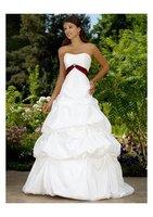 New fashion wedding dress Strapless chiffon &Princess Line &FREE SHIPPING