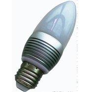 E14/E26/E27 base(please specify)3*1W led bulb;warm white;P/N:QP3W006