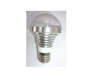 E14/E26/E27 base(please specify)3*1W led bulb;warm white;P/N:QP3W012