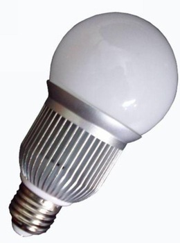 E27 base 5*1W led bulb;cool white;P/N:QP3W017