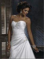 2010 year new elegant wedding dress