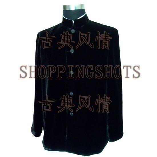 Китайское пальто одежда Одежда для мужчин жакет черный 093222 предлагаем пользовательских сделал сервис