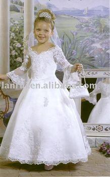 little queen flower girl dress LR-C1083