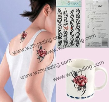 Free Shipping + Mix Designs Order !!  Water transfer temporary Tattoo sticker