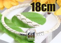 Love Clasp Leather Charm Bracelet 18cm 3118-51