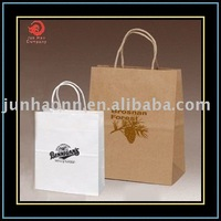Kraft paper bags supported custom-made order in bulk