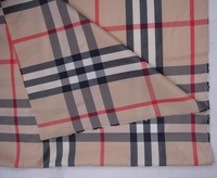 fc2910 London Style Blended 100% polyester checked big tartan plaid Ripstop Lattice yarn dyed Fabric yard