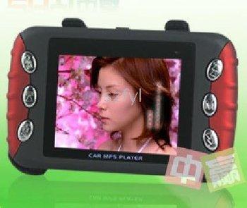 RMVB AVI 2GB hot selling--2pcs 2.4-inch Car MP5 mp4 / home / car / dual / support RM