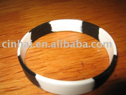Segment-color Silicon Hand Bands for advertising promotion, Factory direct selling(China (Mainland))