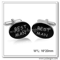 Free Shipping ! YH-892 Oval Best Man Cufflinks, Wedding Cufflinks - Factory Direct Selling