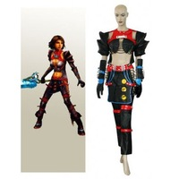 Final Fantasy X 2 Warrior Yuna Cosplay Costume