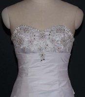 Wholesale - cheap wedding dresses!white ball chapel train sheath wedding dresses/bridal gowns