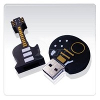 Brand New guitar 16GB/8/4/2GB usb flash drive mini guitar shape memory usb portability 10pcs/lot