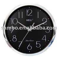 902D Plating Quartz Clock