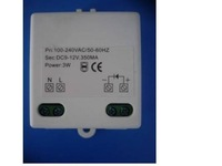 CE approved LED Constant current driver;1*1W;AC100-240 input;2-4VDC/320ma output;XSJ-T0101300CE