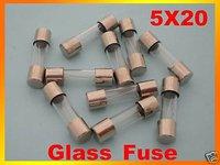 100pcs 15A 250V Glass Fuse, 5mm x 20mm Fast Blow