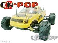 1:10 RC truck Nitro Gas 15CC Engine 4WD racing car 2-Speed Gearbox RTR radio remote control Truck toys