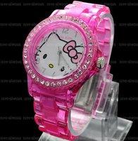 Fashion Xmas Gifts  Hello Kitty Lady Girl Wrist Watch