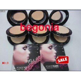 Free shipping !!! NEW Press Powder +Wetlands Foundation With Powder Puffs (60pcs/lot)(China (Mainland))