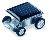 The smallest  design solar energy car mini toy car intelligent car  free shipping