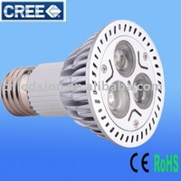 Free Shipping 9W PAR20 LED Light(3pc CREE LED)
